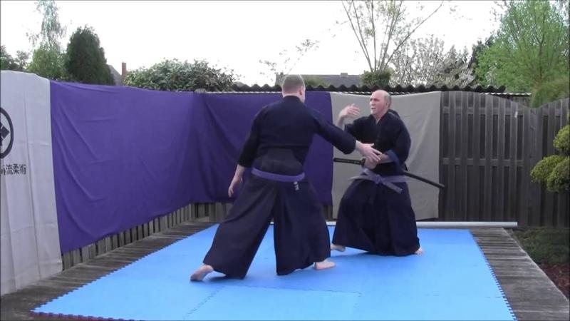 Hakko Denshin Ryu Sandan Kihon goshin iai