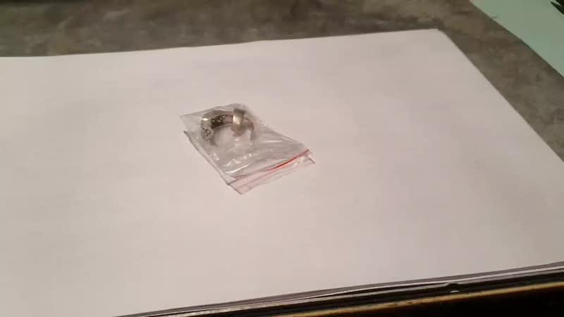 Кольцо с ониксом сломаное