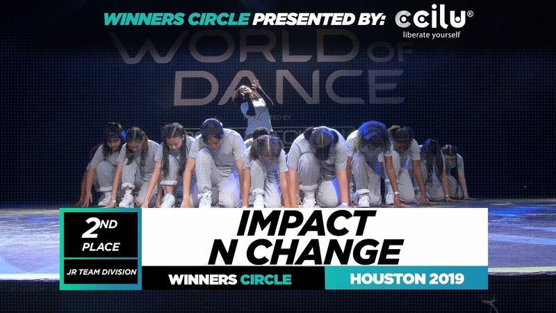 IMPACT N CHANGE 2nd Place Jr Team Winner Circle World of Dance Houston 2019 WODHTOWN
