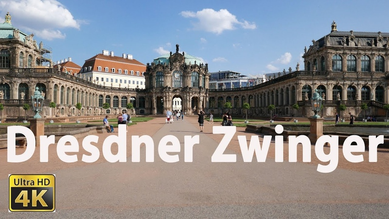 Dresdner Zwinger in 4K