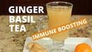 Ginger Tea With Lemon Orange | Immune Boosting Tea | Rockin Robin Cooks