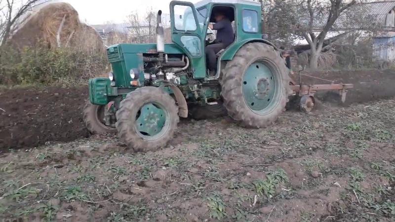 т-40ам,пахота огородов 1,2га