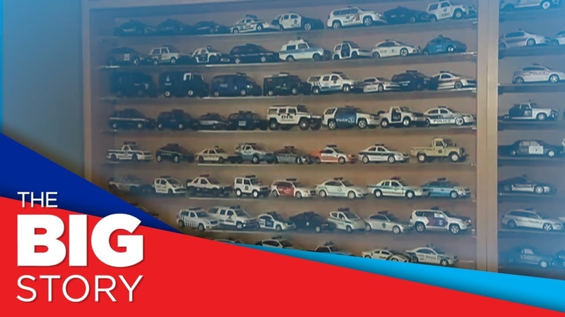 The Big Story. Polish cop shows off police car model collection