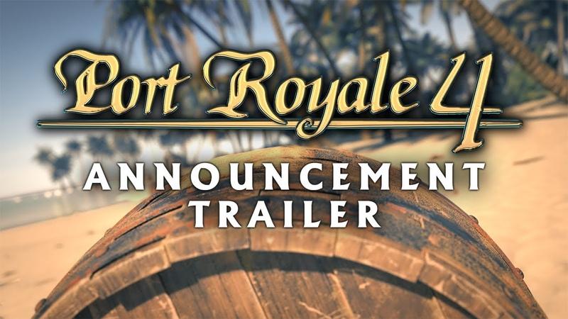 Port Royale 4 - Announcement Trailer (INT)
