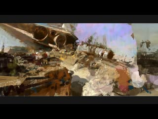 Trailer craig mullins. painting sci-fi from start to finish""