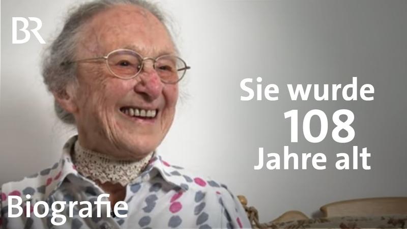 Anna Lang Wie ich 108 Jahre alt wurde Lebenslinien Biografie BR
