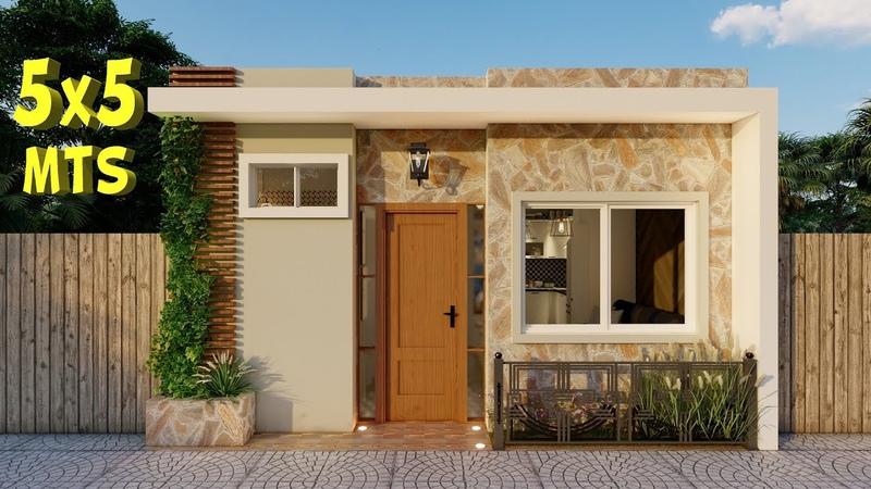 Plano de Casa 5x5 Casa Económica
