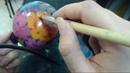Жостово от Куликовой Анастасии. Бликовка на елочных шарах