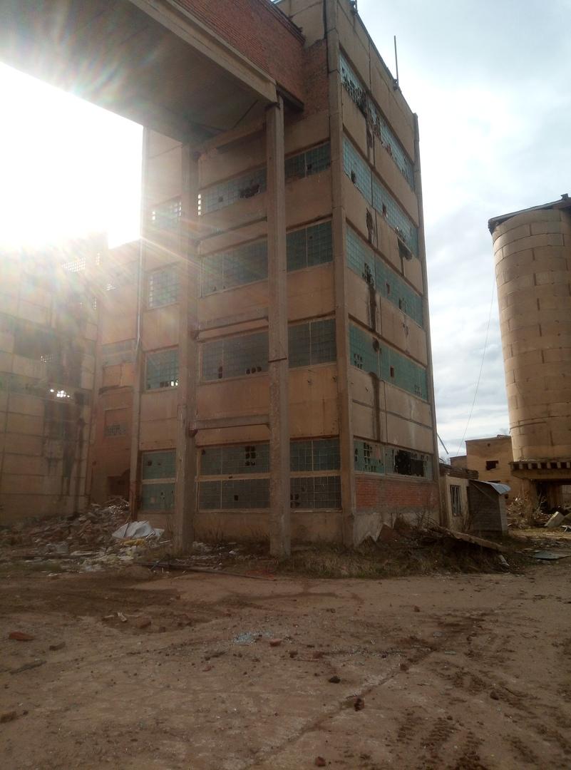 Заброшенный завод стройдеталь
