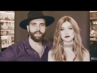 Here's a video clip from when i did a photo shoot of @kat_mcnamara for the cover of @bellusmagazine shot at @kettleblackla style