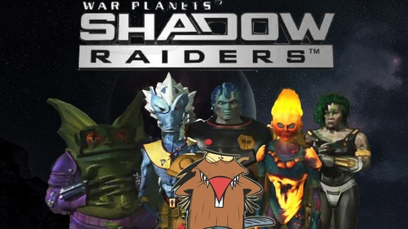 ПЛАНЕТА МОНСТРОВ Shadow Raiders 1998 Обзор мультсериала