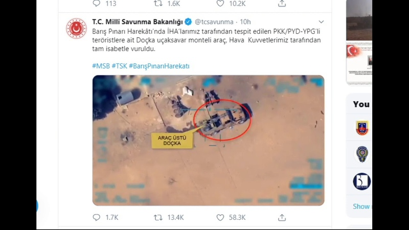 ΒΙΝΤΕΟ με την δολοφονία Κούρδων μαχητών από τουρ 9