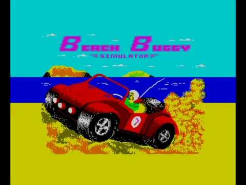 Beach Buggy Simulator 128k 2020 Edition Walkthrough ZX Spectrum