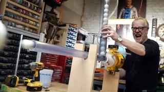 Adam Savage's One Day Builds: Ping Pong Machine Gun!