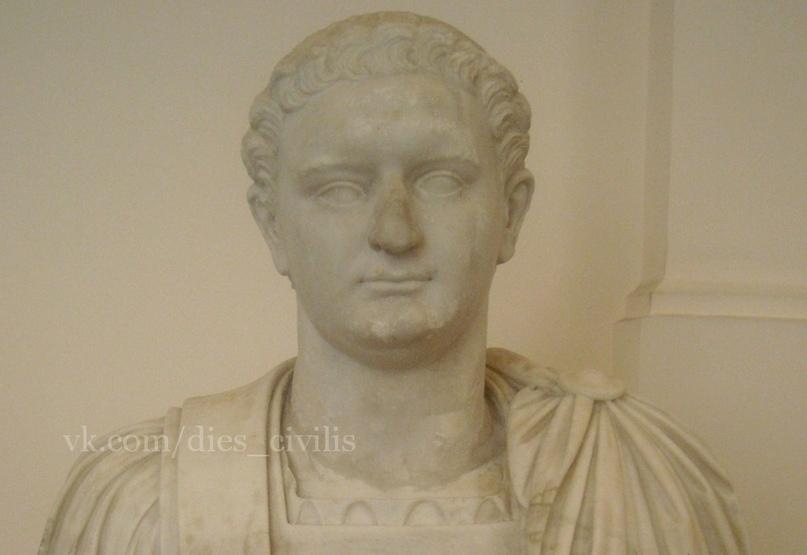 Домициан, последний император из династии Флавиев; его биография завершает сборник Светония (Национальный археологический музей Неаполя).