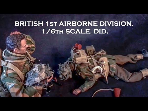 Фигурки британских десантников от DID Масштаб 1 6 Блиц обзор
