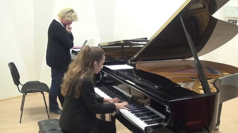 30.10.2019 Master-classes of Mira Marchenko: S. Almondo, F. Liszt Children's Music School, Moscow