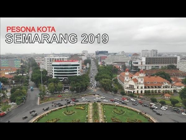 Pesona Kota Semarang 2019 Ibukota Provinsi dan Kota Terbesar di Jawa Tengan dilihat dari Udara