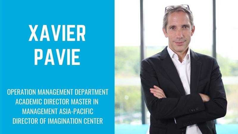 Prof Xavier Pavie In Singapore we develop innovative pedagogy