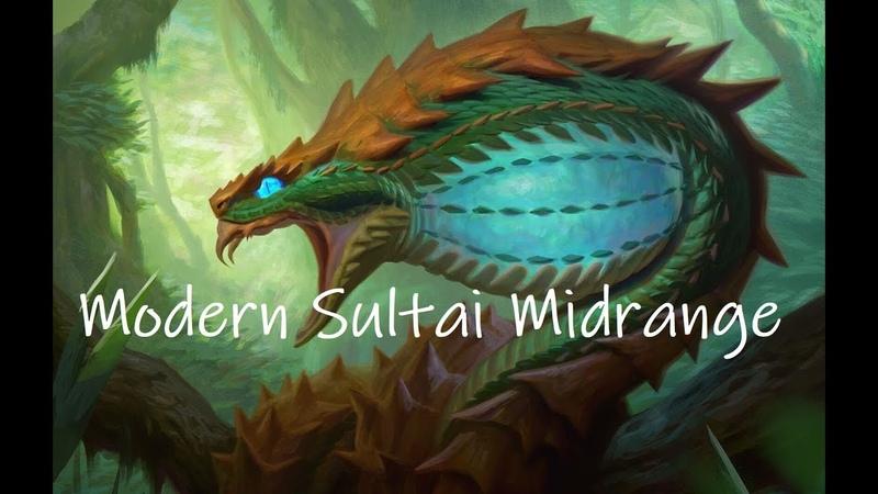 Modern League with Sultai Midrange