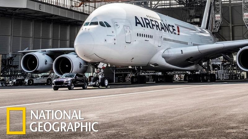 Суперсооружения Аэробус A 380 National Geographic