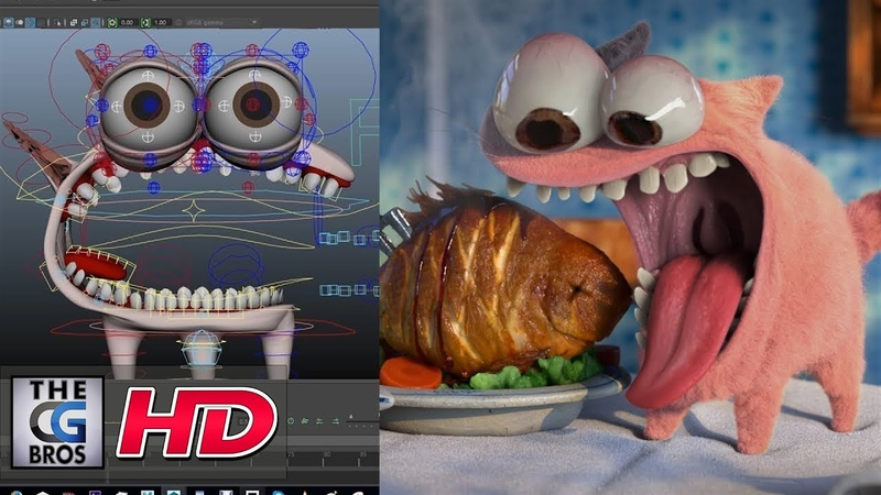 CGI VFX Breakdowns: The Food Thief RIGG - Technical Breakdown - by Mindbender Animation Studio