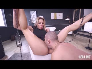 [HerLimit] Jolee Love - Horny blonde banged hardcore and eats cum