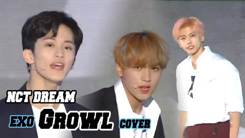 Korean Music Wave NCT DREAM Growl 엔시티 드림 으르렁 EXO Cover DMC Festival 2018