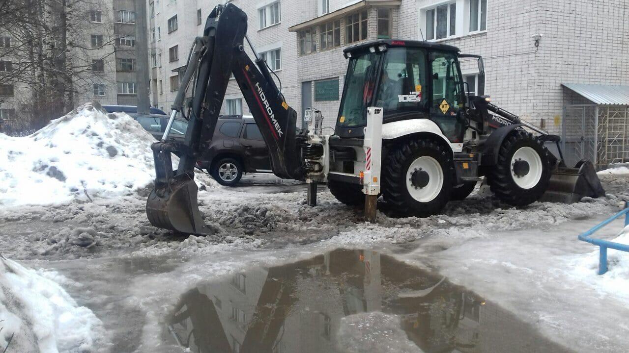 Механизированная уборка придомовых территорий