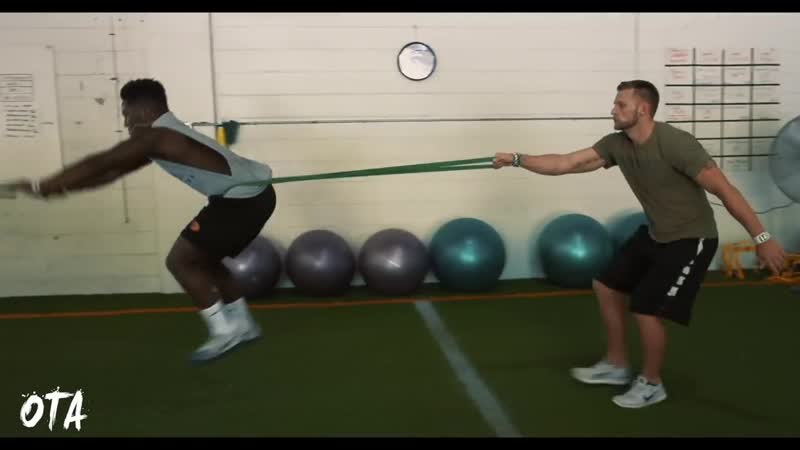 Plyo and Squat Workout For Football