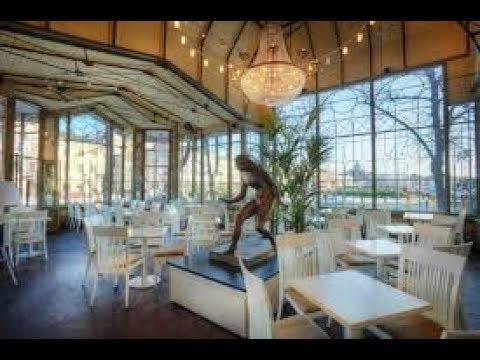 Самый старый и красивый ресторан в Хельсинки Kappeli The oldest restaurant of Helsinki