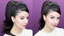 Peinado Colita de Caballo Retro Pinup Recogido de los Años 1960 | Nena Moreno