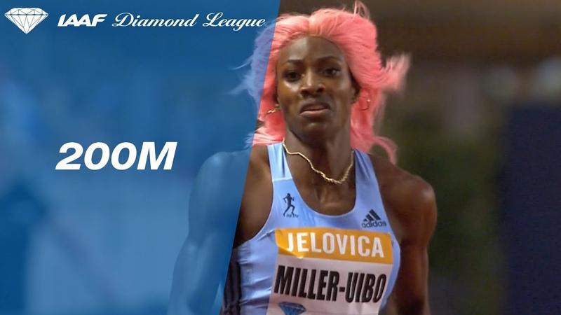 Shaunae Miller Uibo bests a world class 200m field in Monaco IAAF Diamond League 2019