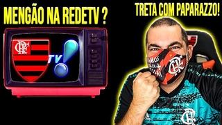 JOGO DO FLAMENGO TRANSMITIDO PELA REDETV COVARDIA COM O PAPA!