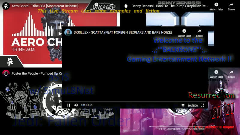 ' BACKBONE ' Gaming entertainment Network ~ AS Is w SimuL8Nist~