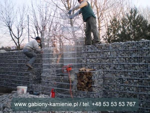 Ogrodzenia Gabion Gabiony Kosze Gabionowe