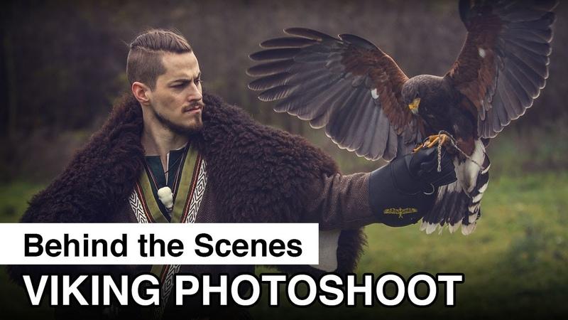 Viking Photoshoot - Behind The Scenes