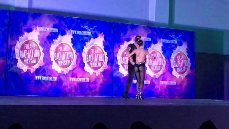 Marcelo Belen dancing Bachata Show at Bachaturo 2019 Warsaw