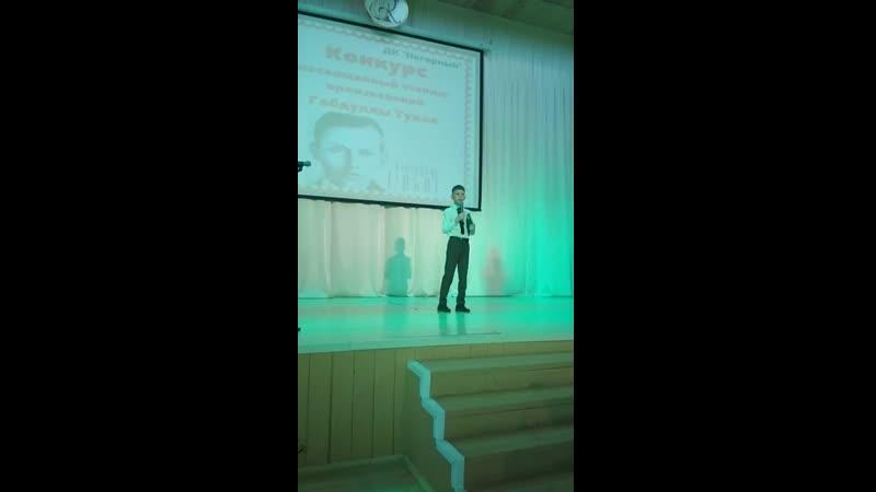 2019 г. Конкурс чтецов стихотворений Г. Тукая