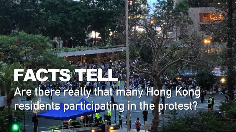 Facts tell Are there really that many Hong Kongers participating in the protest 真的有那麼多香港人參與集會嗎?