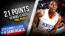 RJ Barrett Full Play 2019 07 10 Knicks vs Lakers 21 Pts 10 Rebs 3 Asts FreeDawkins