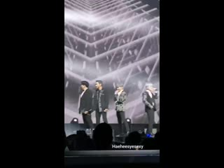 Yesung danced the wrong moves during Devil which he only realised after staring at siwon S