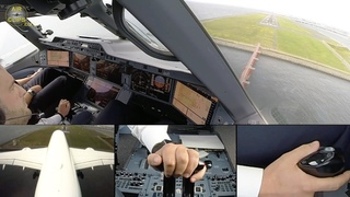 Airbus A350 Lufthansa ULTIMATE COCKPIT MOVIE + Business Class Tokyo [AirClips full flight series]