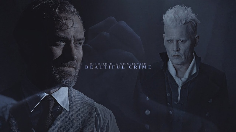 Albus Dumbledore Gellert Grindelwald Beautiful Crime