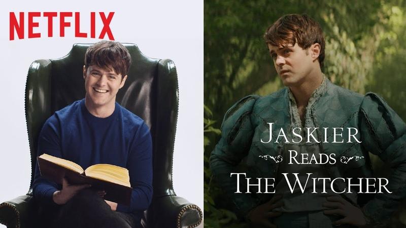 Jaskier Reads The Witcher (feat. Joey Batey)   Netflix
