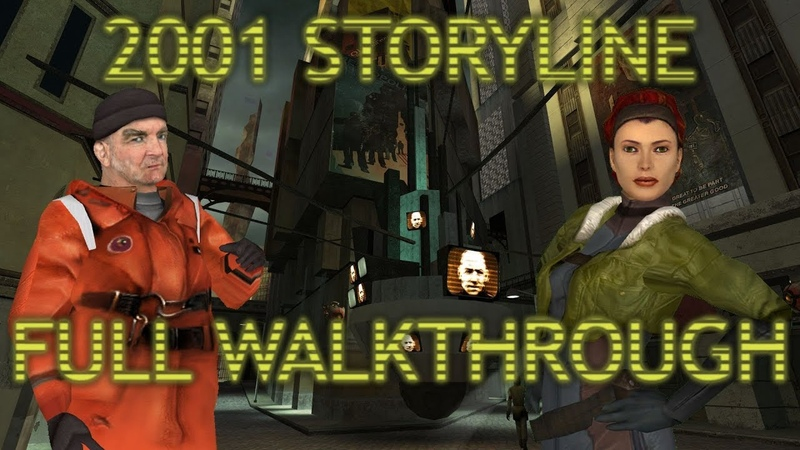 Half Life 2 Beta: 2001 Storyline Full Walkthrough