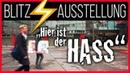 Blitz-Ausstellung: Hier ist der Hass in der Urania Berlin | AKTIVISMUS