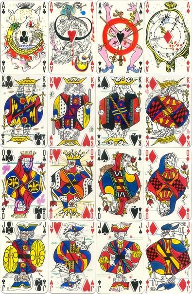 CARTE Á JOUER PAR SALVADOR DALI (Игра в карты от Сальвадора Дали)