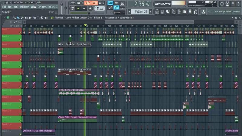 GTNKillerz feat Se11er - Nebiros How to make DeathStep fl studio flp dubstep