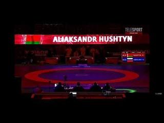 Финал До 97 кг - Абдулрашид Садулаев (Россия) - Александр Гуштын (Беларусь)